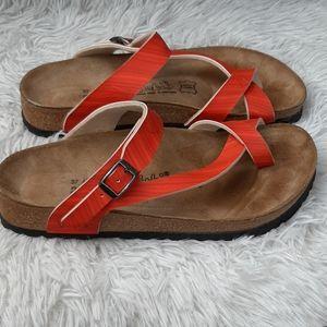 Birkenstock Birki's Lennox Toe Strap Sandals Sz 6